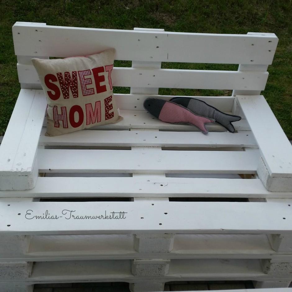 gartensessel sitz 1 2 sitzer vintage wei paletten. Black Bedroom Furniture Sets. Home Design Ideas