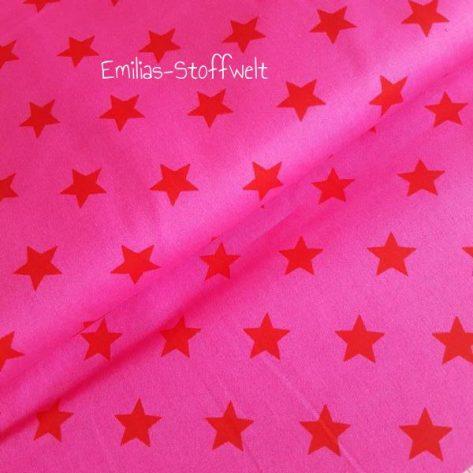 Baumwolle Punkte/Sterne/uni Baumwole